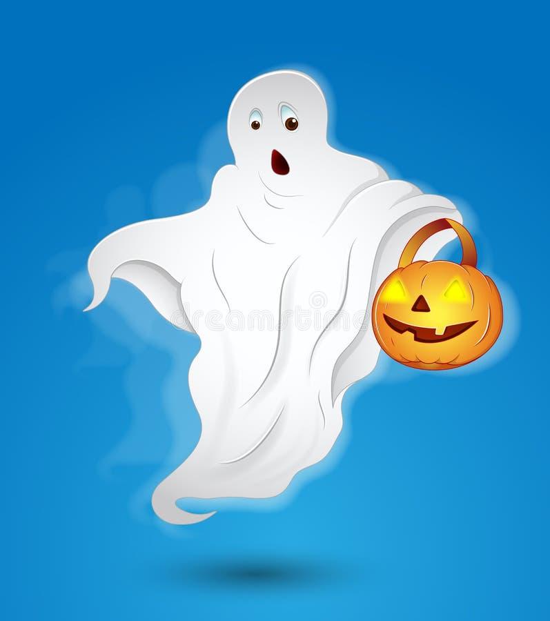 привидение halloween иллюстрация штока