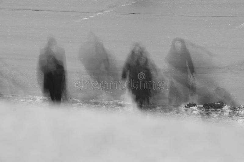 привидения стоковая фотография rf