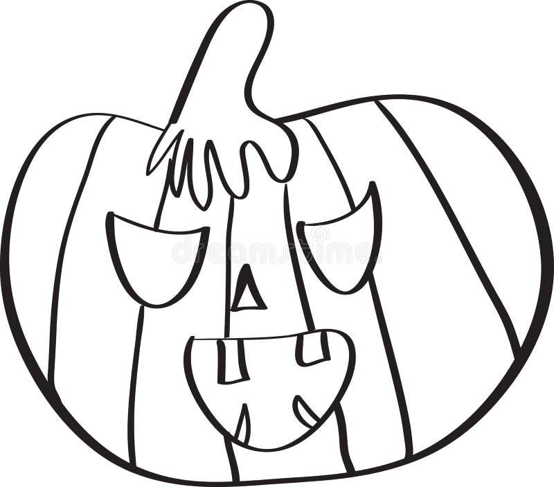 Download привидение halloween иллюстрация вектора. иллюстрации насчитывающей страх - 41661717