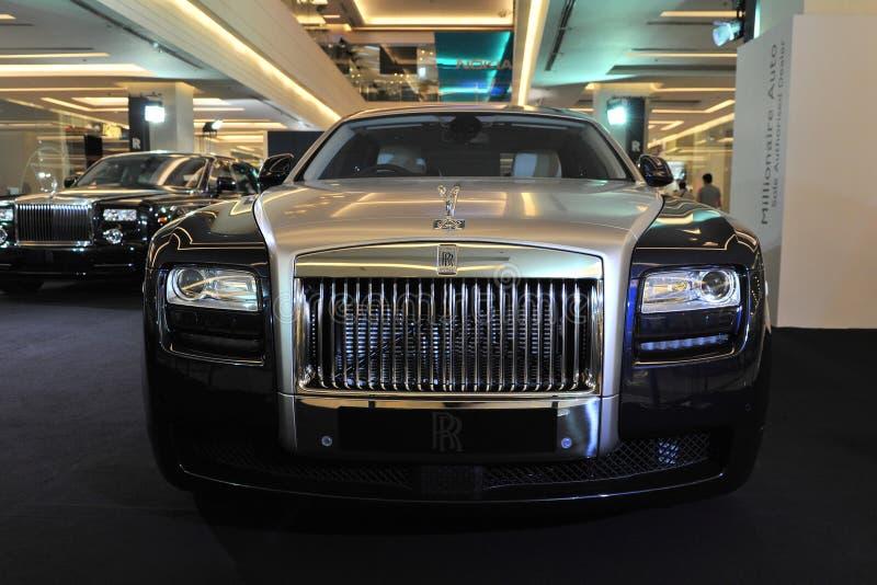 привидение Rolls Royce стоковые изображения rf