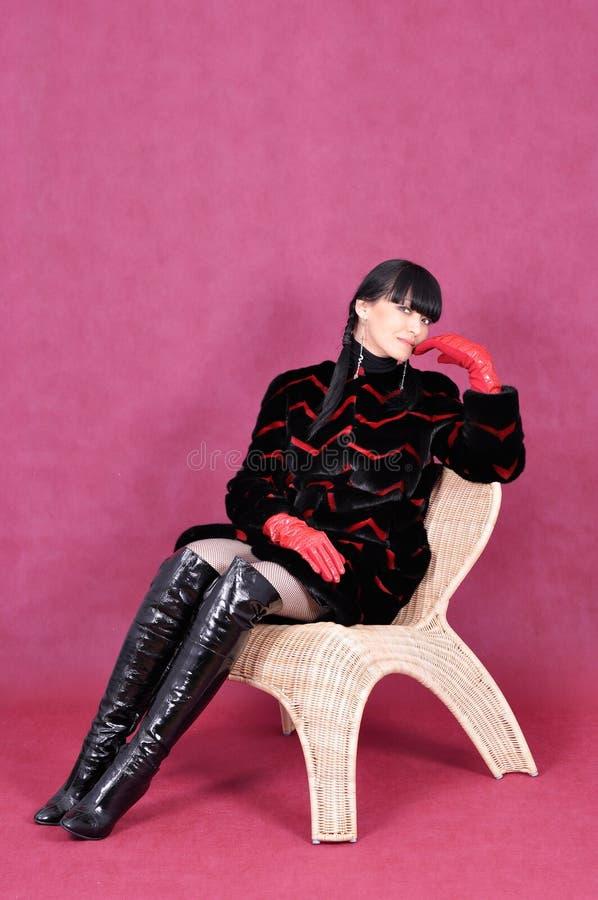 привлекательная женщина портрета стоковое изображение