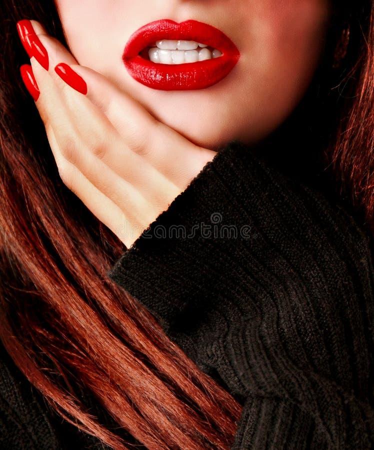 привлекательная женщина стоковые фото