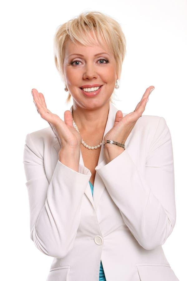 привлекательная красивейшая белая женщина стоковая фотография rf