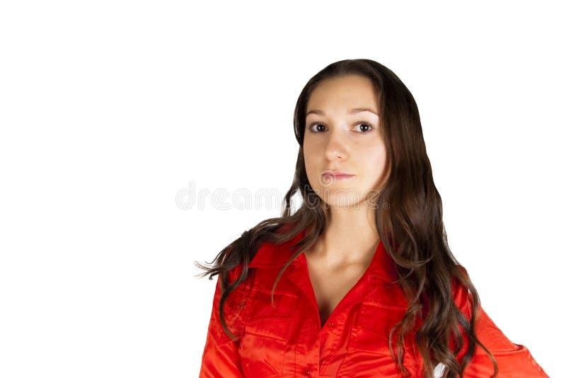 привлекательная красивейшая девушка стоковое фото rf