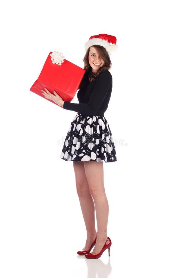 привлекательное присутствующее предназначенное для подростков стоковая фотография rf