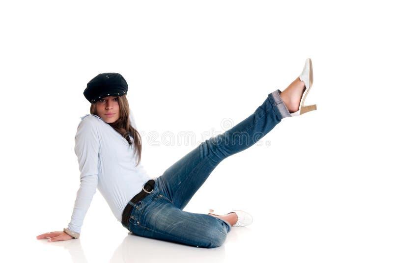 привлекательное femme fatale стоковое фото rf
