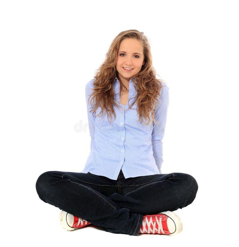 Привлекательный девочка-подросток стоковое изображение rf