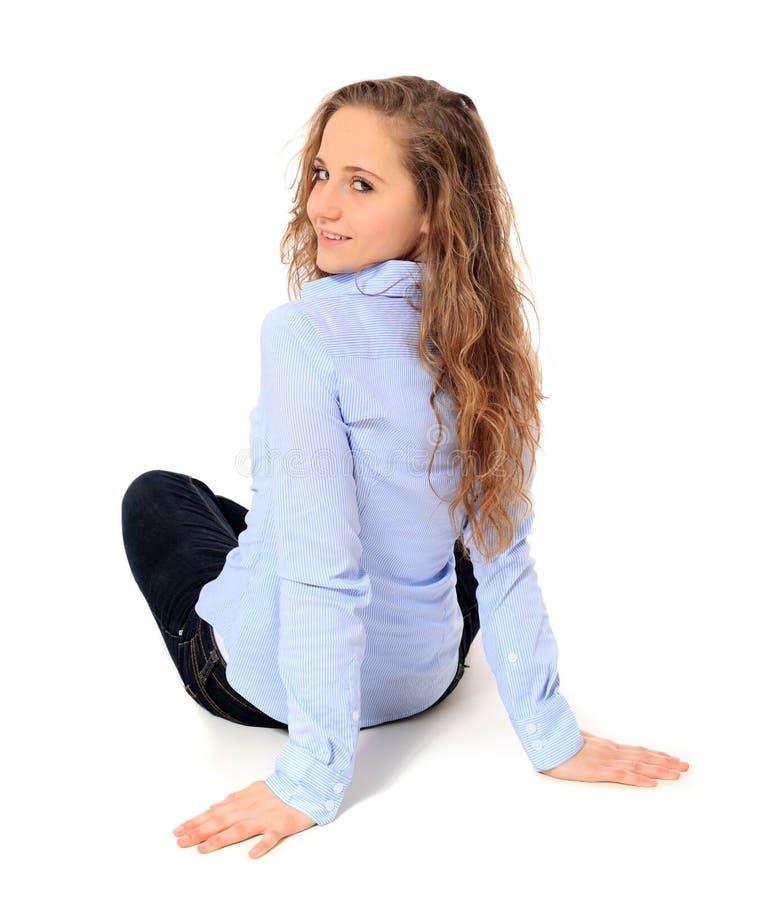 Привлекательный девочка-подросток стоковые изображения