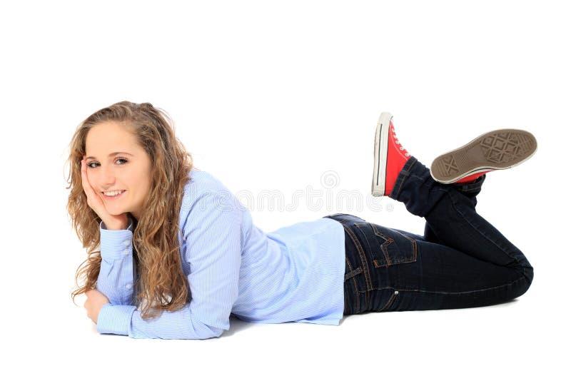 Привлекательный девочка-подросток стоковые фото