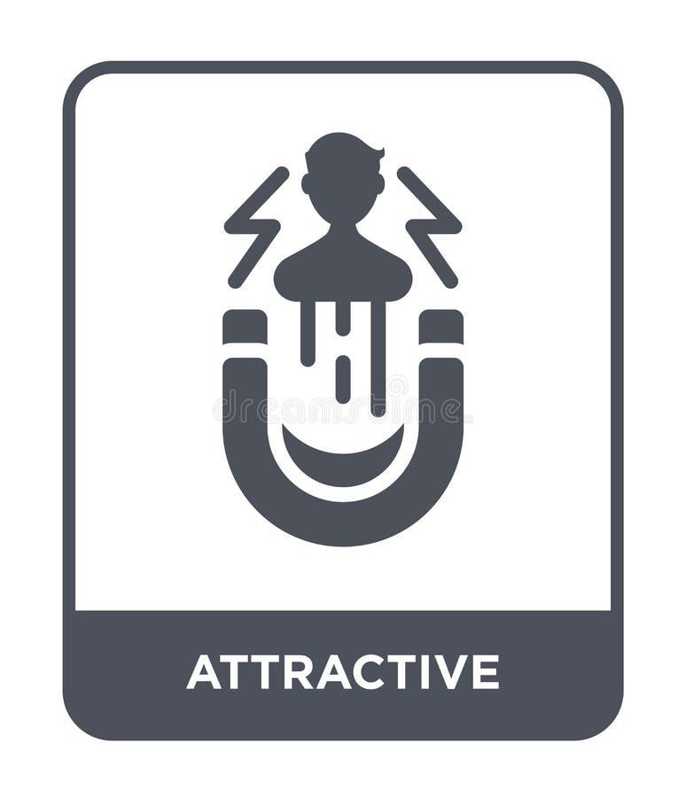 привлекательный значок в ультрамодном стиле дизайна привлекательный значок изолированный на белой предпосылке привлекательный зна бесплатная иллюстрация