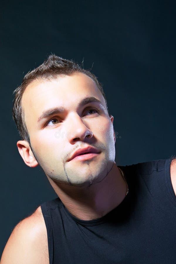привлекательный портрет человека стоковые фото