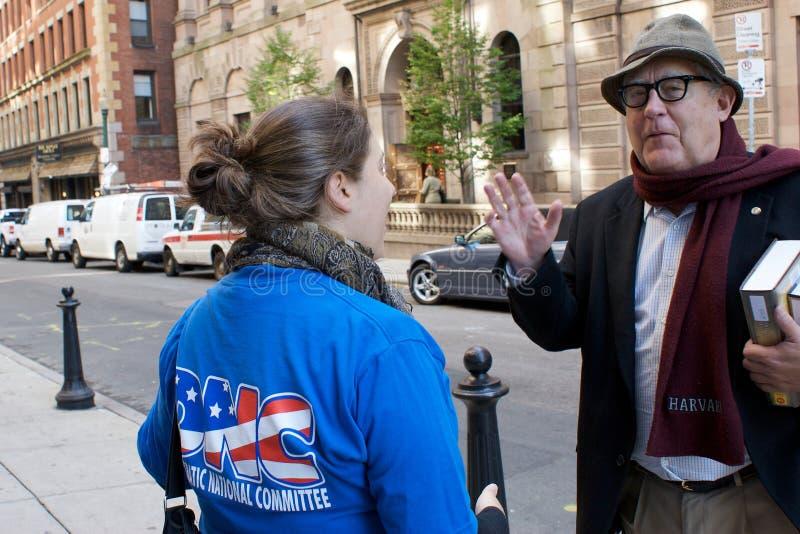 Привод регистрации избирателя DNC стоковые фотографии rf