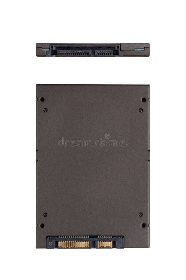 Привод SSD изолированный на белой предпосылке стоковые фотографии rf