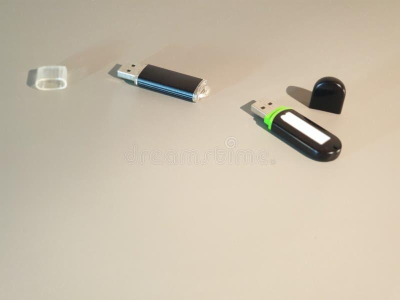 Привод USB внезапный Внешний жесткий диск кармана средств массовой информации стоковое изображение