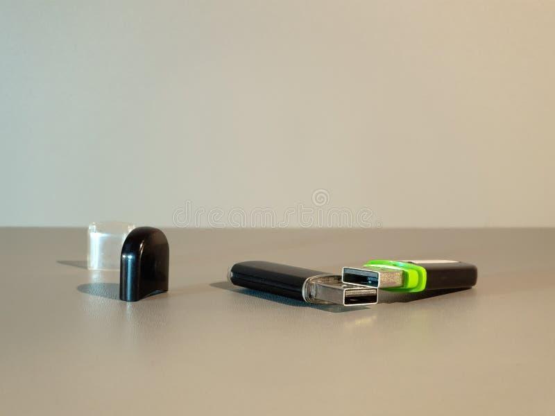 Привод USB внезапный Внешний жесткий диск кармана средств массовой информации стоковое изображение rf