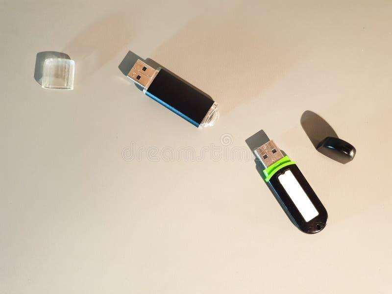 Привод USB внезапный Внешний жесткий диск кармана средств массовой информации стоковые изображения rf