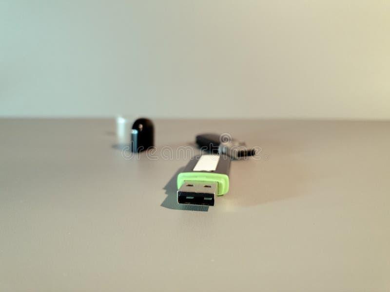 Привод USB внезапный Внешний жесткий диск кармана средств массовой информации стоковое фото