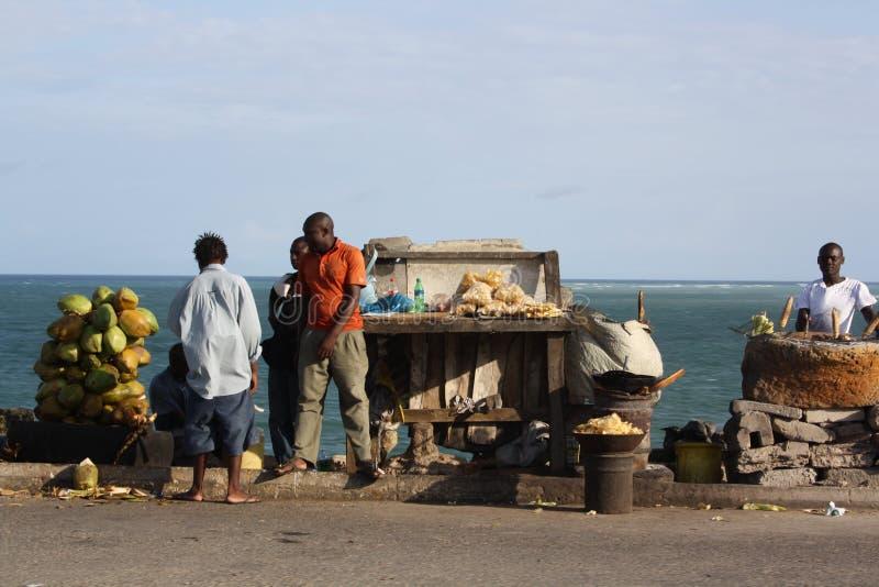 Привод мамы Ngina mombasa стоковое изображение