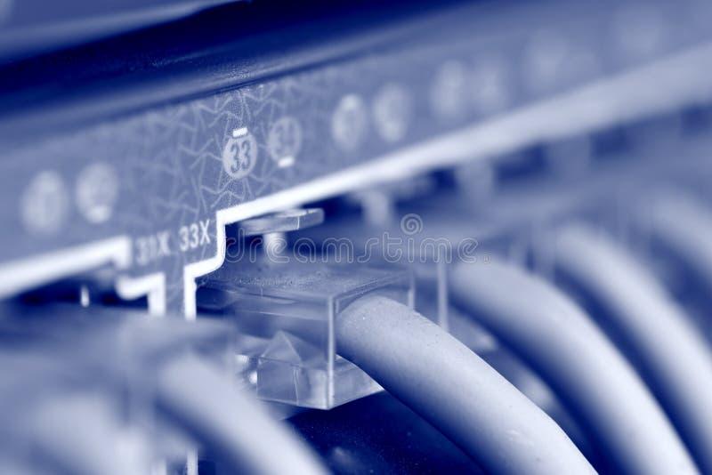 привязывает интернет стоковое изображение