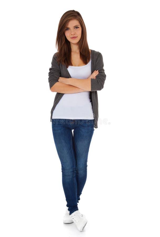 привлекательная девушка подростковая стоковые фотографии rf