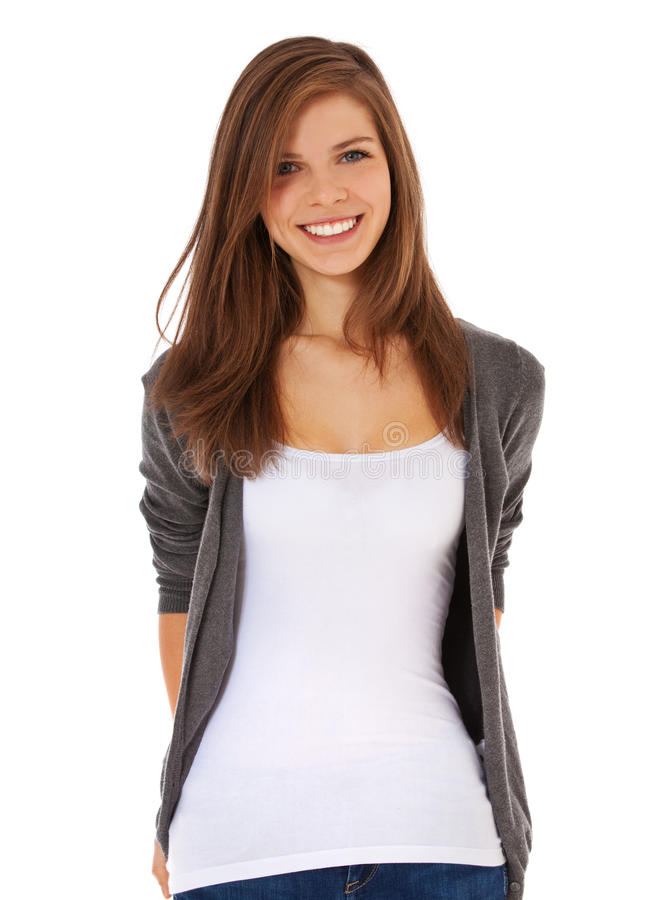 привлекательная девушка подростковая стоковые изображения rf