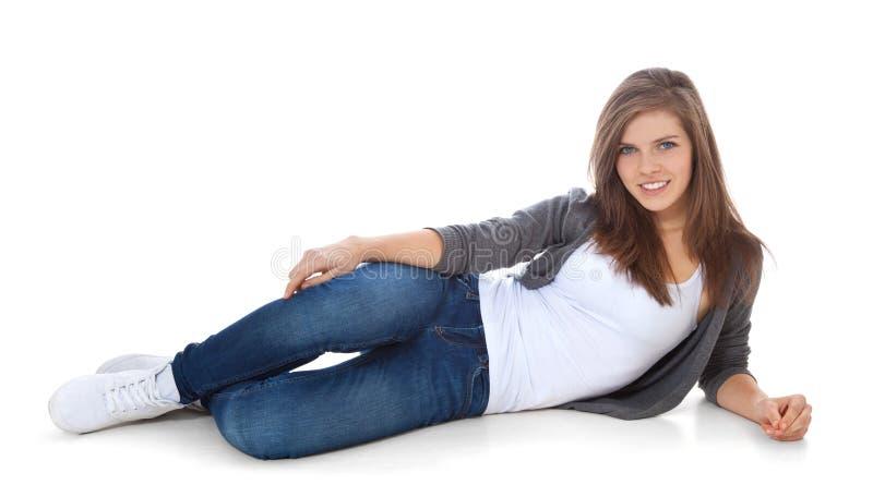 привлекательная девушка подростковая стоковые фото