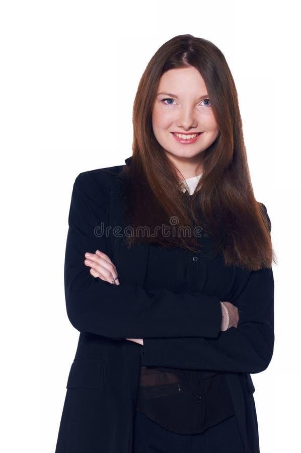 Привлекательное bussinesswoman стоковое изображение
