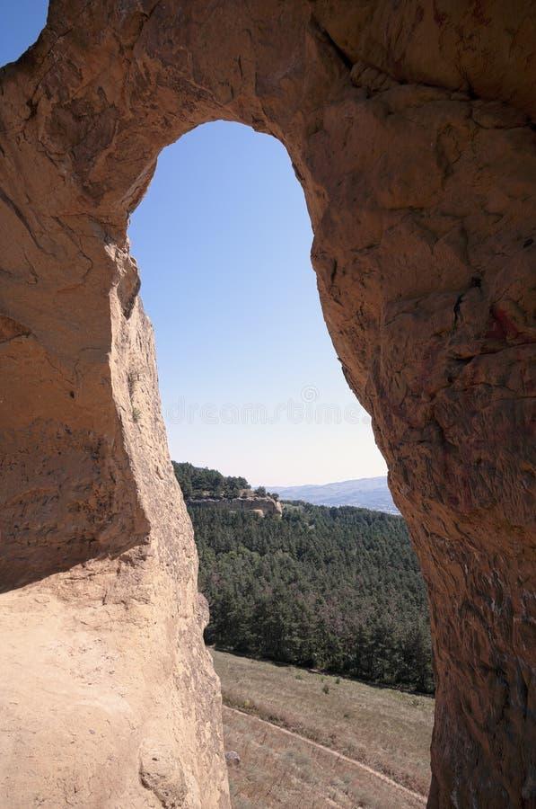 ` Привлекательности ` кольца ` горы кавказских минеральных вод Территория Stavropol ` Российская Федерация стоковое изображение