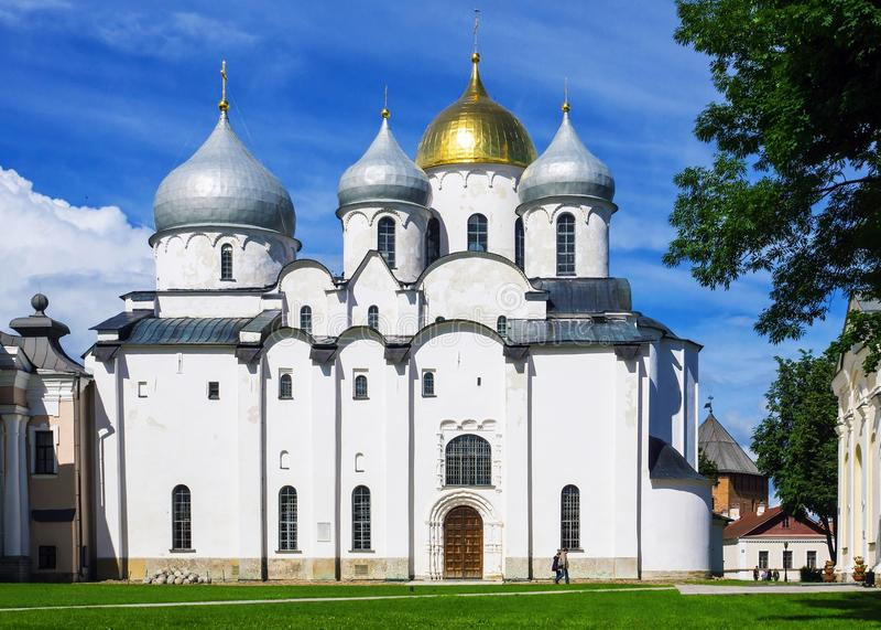 Привлекательности Veliky Новгорода, России стоковая фотография rf