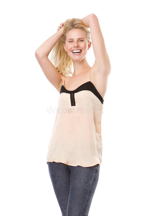 Download привлекательные ся детеныши женщины Стоковое Изображение - изображение насчитывающей женщина, уверенно: 40583055