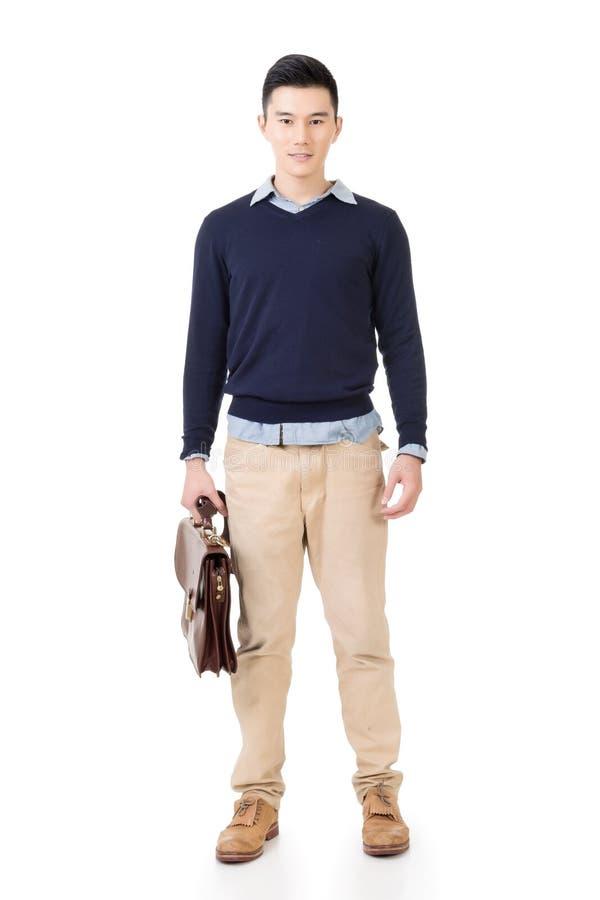 Привлекательный молодой бизнесмен стоковое фото rf