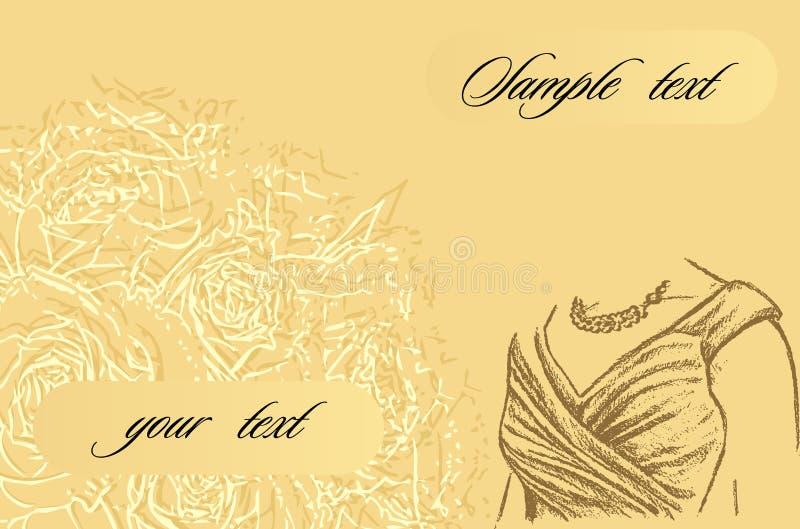 Download приглашение карточки иллюстрация вектора. иллюстрации насчитывающей иллюстрация - 6865200