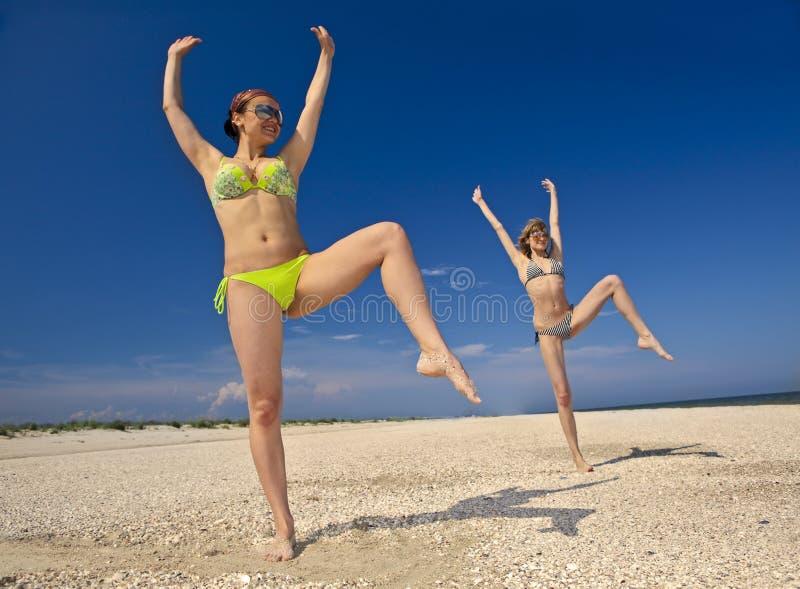 пригодность пляжа стоковое фото