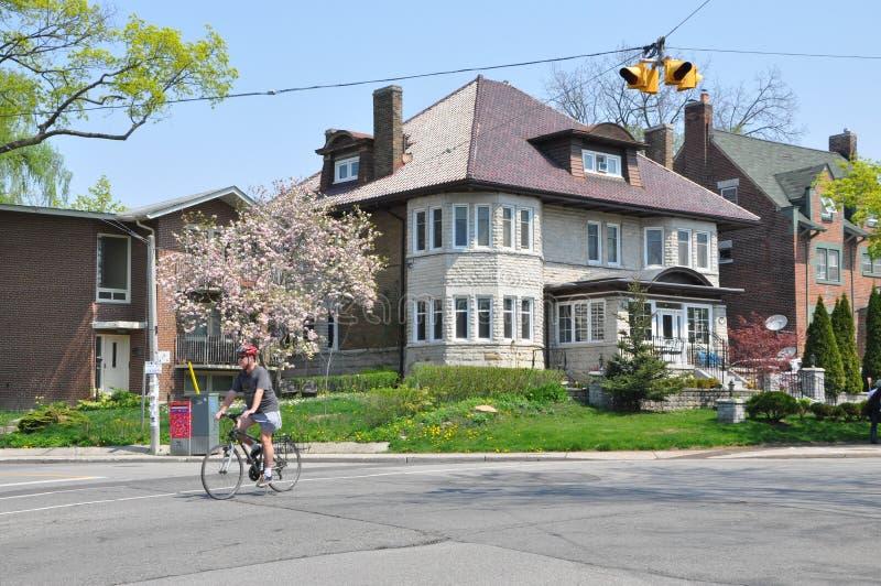 Пригороды Торонто стоковое изображение rf