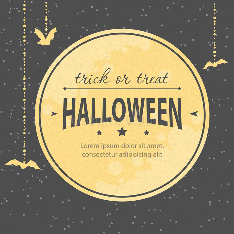 Приглашение хеллоуина бесплатная иллюстрация