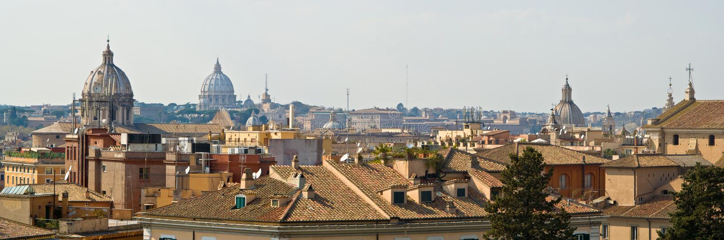 придает куполообразную форму: rome стоковое изображение