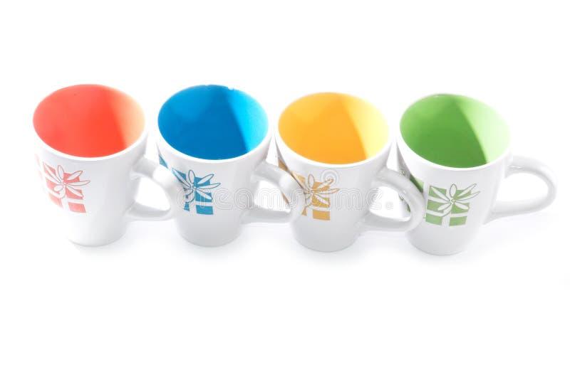 придает форму чашки чай стоковые изображения rf