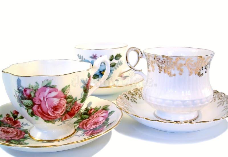 придает форму чашки чай стоковые изображения
