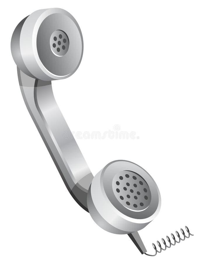 приемник телефона телефонной трубки иллюстрация вектора