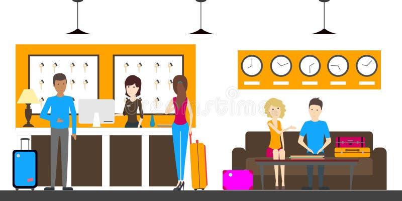 Прием в общежитии бесплатная иллюстрация