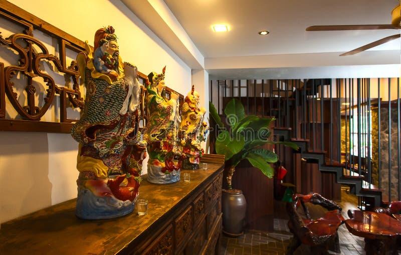 Прием и бассейн тайской гостиницы стоковые изображения