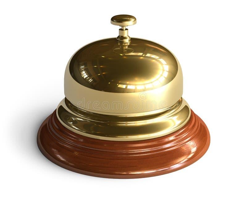 прием колокола золотистый бесплатная иллюстрация