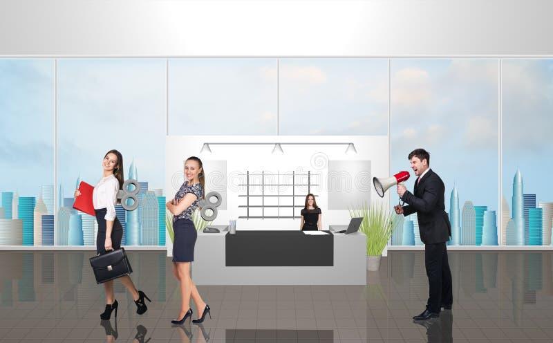 Прием офиса стоковое изображение rf