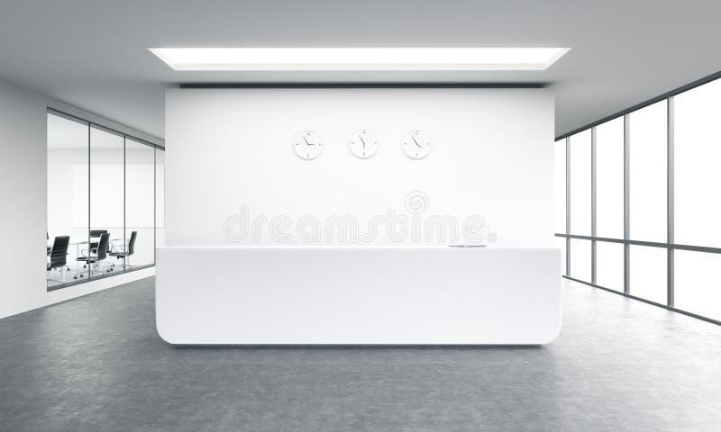 Прием офиса бесплатная иллюстрация