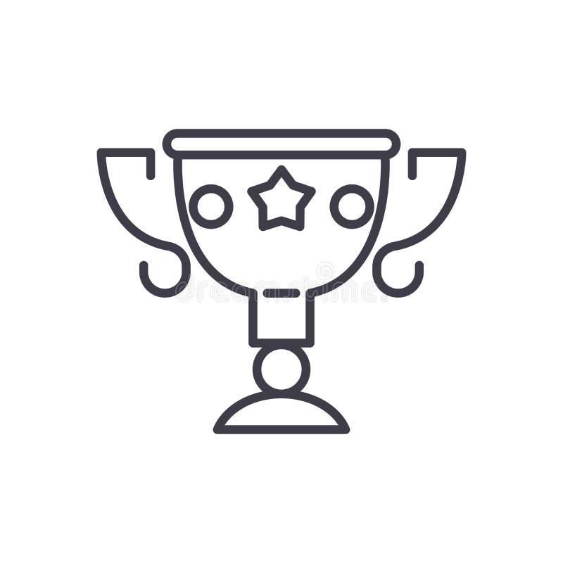 Призовая концепция значка черноты щедрот Символ вектора призового щедрот плоский, знак, иллюстрация иллюстрация штока