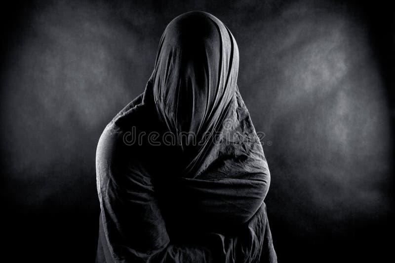 Призрак в темноте стоковая фотография rf