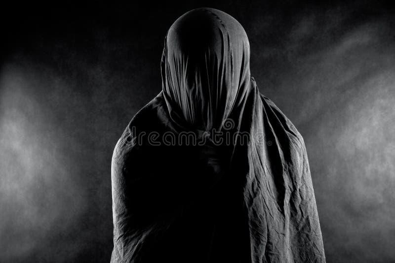 Призрак в темноте стоковое фото