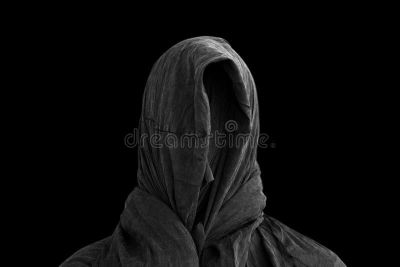 Призрак в темноте стоковые фотографии rf