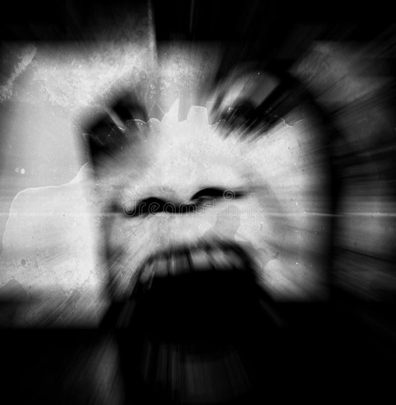 Призрак стоковое изображение