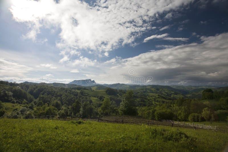 Прикарпатская гора стоковые изображения
